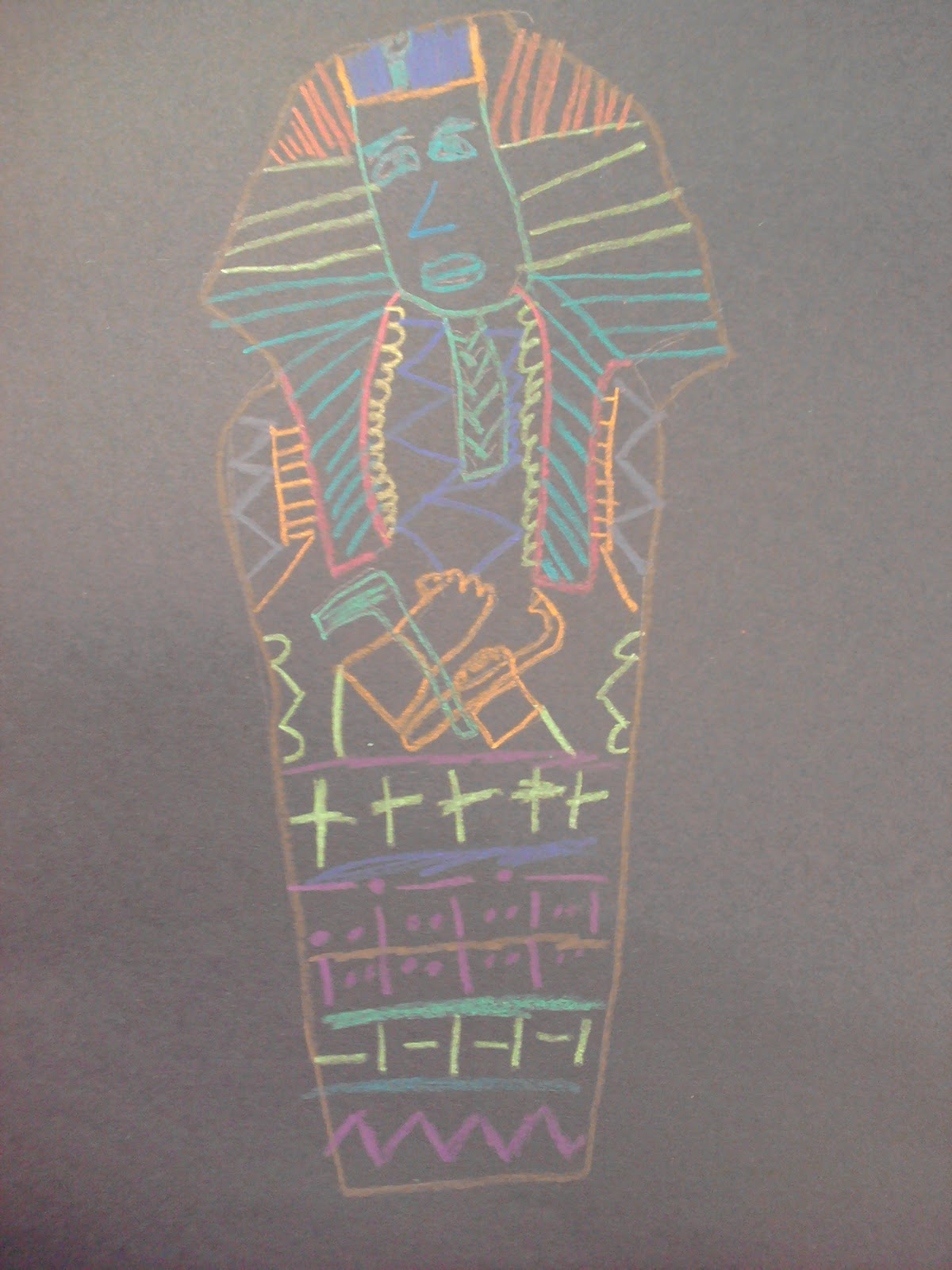 Artastic Miss Oetken S Artists Patterned Egyptian