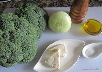 Crema de bróculi