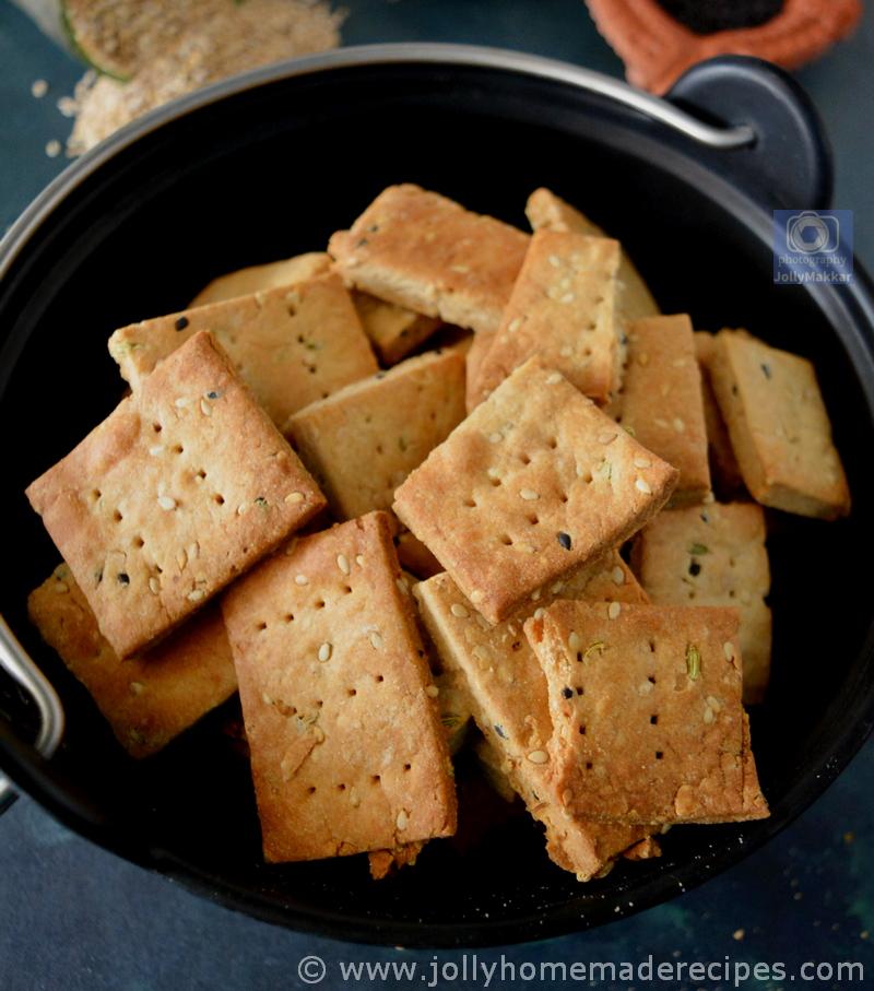 Jaggery Sesame Crackers