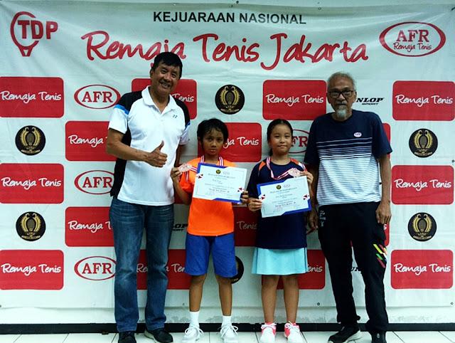 Gwen Emily Kurniawan Cucu Rudy Hartono Sang Maestro Bulutangkis Juara RemajaTenis Jakarta-85