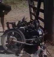 Homem morre em colisão entre carro e moto em São José dos Basílio