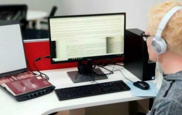 IFB converte livros em áudio para ampliar acessibilidade de deficientes visuais