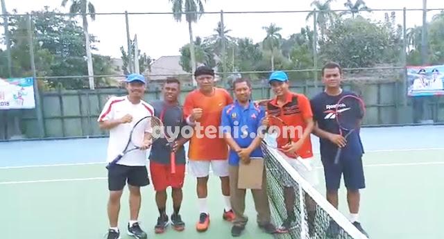 Tenis Pornas Korpri: Muji Slamet/Andery Styawanto Menang Telak, Tim Putra Jatim Melenggang ke Perempat Final