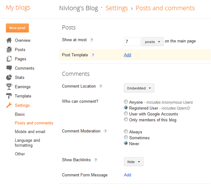 post template blogger code - disruptive innovator step by step blogging guide