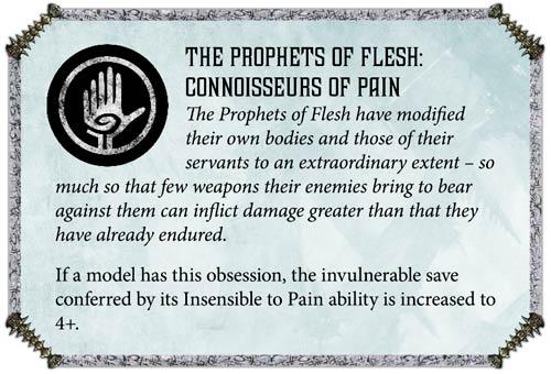 Reglas Hemonculos Profetas de la Carne
