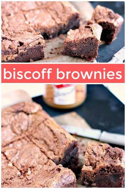 Chocolate Biscoff Brownies