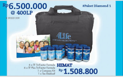 Paket Diamond #1 4Life Transfer Factor