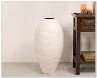 Floor vase for living space decoration ideas
