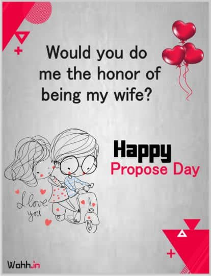 Propose Day Status Posters