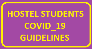 Hostel Students COVID_19 Guidelines