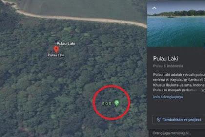 Google Hapus Sinyal SOS di Pulau Laki Area Jatuhnya Pesawat Sriwijaya Air, Ini Penjelasannya