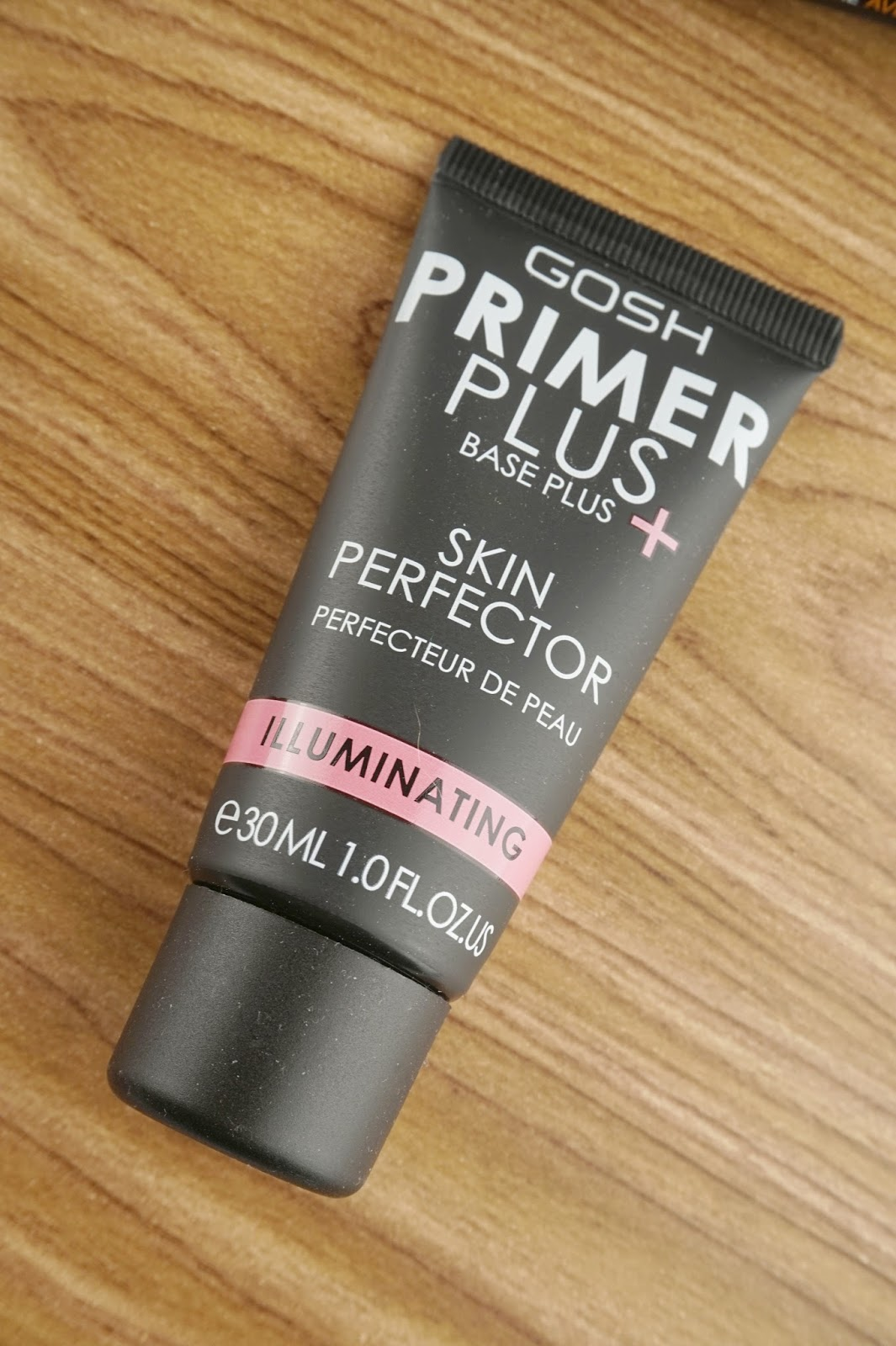 GOSH Cosmetics core products review primer plus skin perfector