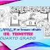 EXAMEN en formato editable DE CUARTO GRADO, CORRESPONDIENTE AL PRIMER TRIMESTRE, CICLO ESCOLAR 2019-2020.