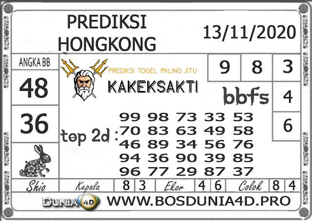 Prediksi Togel HONGKONG DUNIA4D 13 NOVEMBER 2020