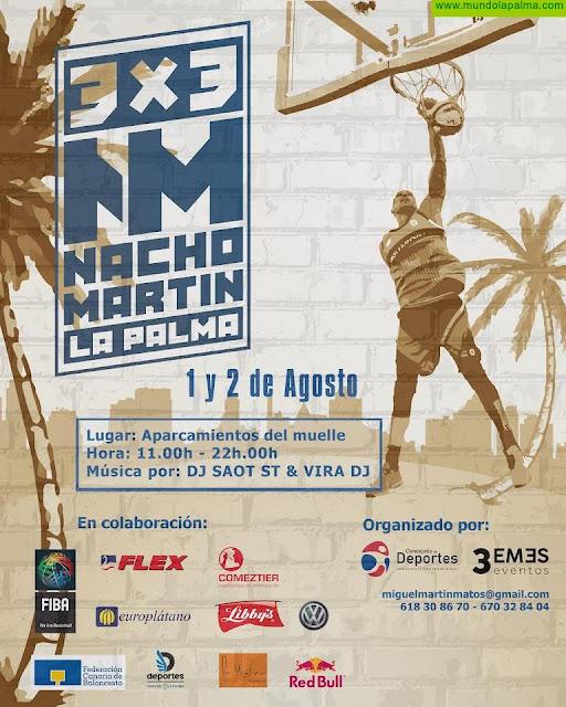 El Ayuntamiento organiza un torneo 3x3 en los aparcamientos del puerto que será puntuable para el ranking FIBA