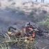 VEJA VÍDEO: Motoqueiro sofre acidente, morre e tem o corpo carbonizado