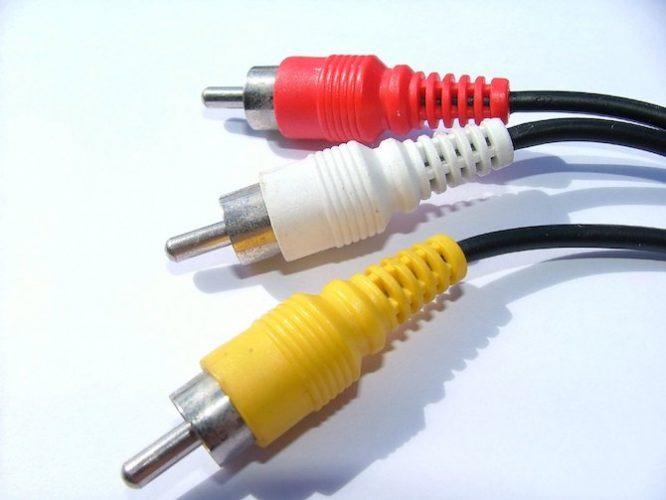 cables rca que es cada color