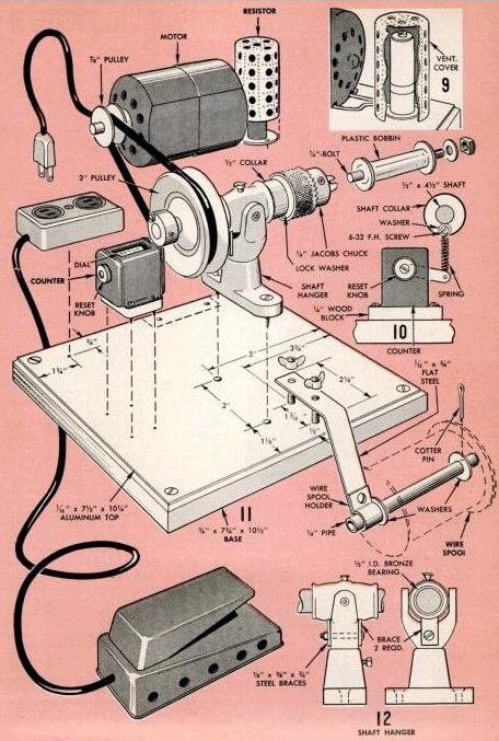hobby workshop projects popular mechanics shop notes highlights 1962