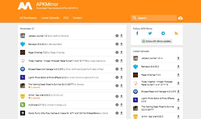 Tempat Terbaik tuk Download Aplikasi Android - APKMirror