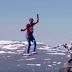 Alemães cruzam corda-bamba de 2.000 metros sobre desfiladeiro na Lapônia; assista
