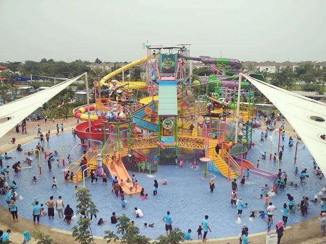 Gowet Waterpark Grand Wisata Bekasi