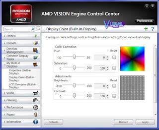 Cara Mengatur Kecerahan Layar Laptop Dan Komputer Melalui Software Driver VGA 3