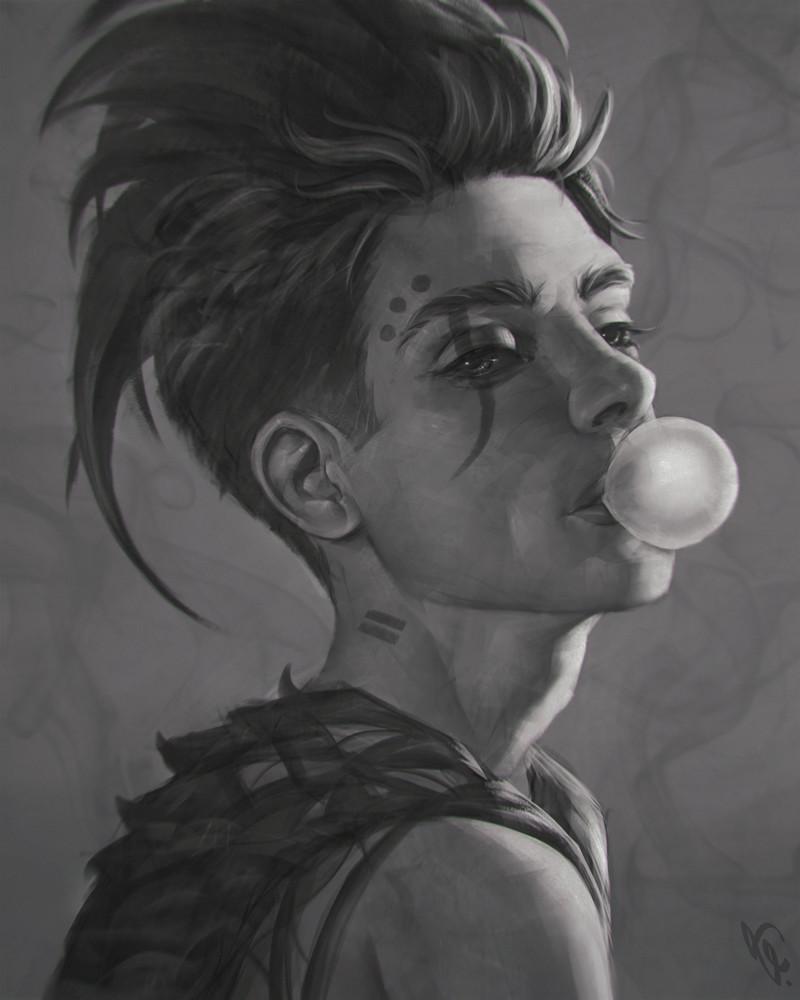A incrível arte digital de Angel Ganev