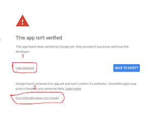 this app isn't verified