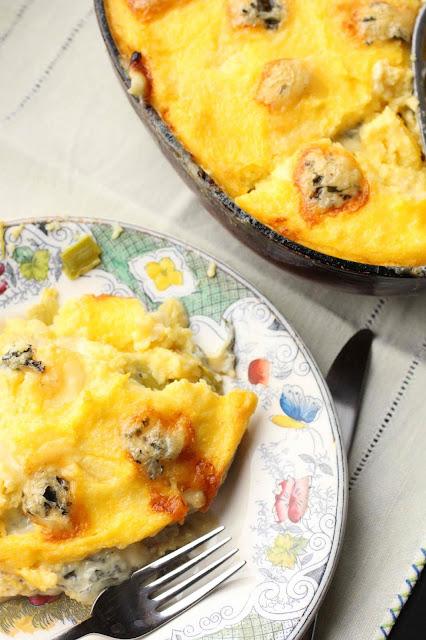 preparer polenta au four gratinee