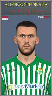 PES 2017 Faces Alfonso Pedraza by Mo Ha