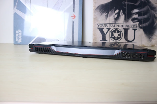 msi gl63 9sd rear exhaust