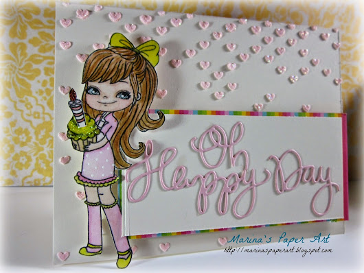 Oh Happy Day........from Little Blue Button Stamps