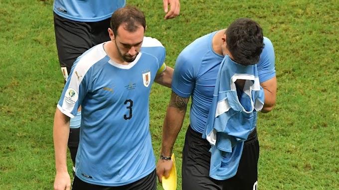'Perder nos pênaltis é injusto', lamenta Luis Suárez