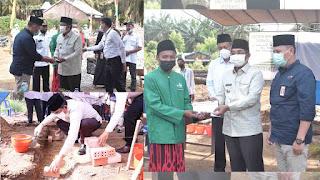 SKK Migas - PetroChina Beri Bantuan Pembangunan Mushola Al Alif di Desa Purwodadi