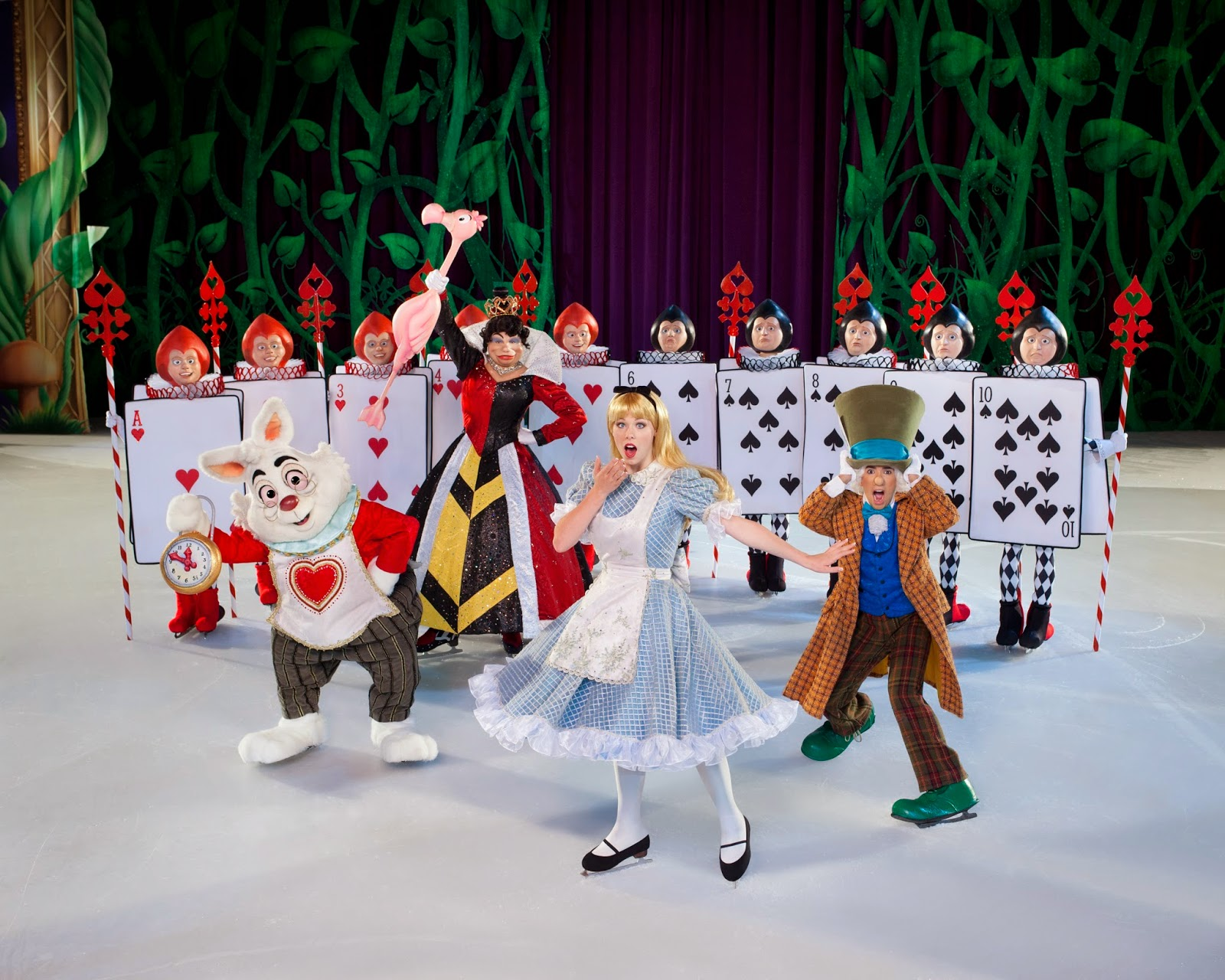 Disney On Ice: Treasure Trove Alice in Wonderland