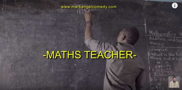 MarkAngel Comedy - Maths Teacher