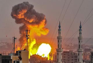 استشهاد مواطنين بقصف اسرائيلي لاحد مواقع القطاع