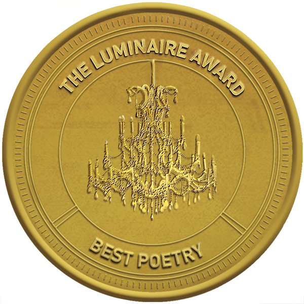 Luminaire Poetry Award gold logo and link