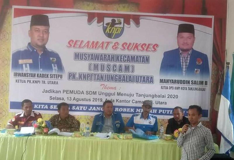 Muscam PK KNPI Tanjungbalai Utara: Heru Pratama Irawan Lobo terpilih Jadi Ketua