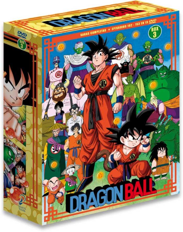 Dragon Ball: Serie completa - Box 3 DVD