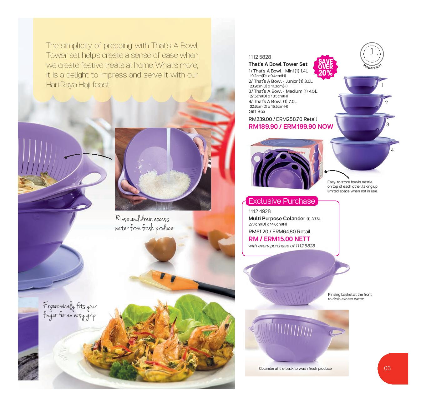 tupperware catalog 13 august 2016 30 september 2016 tupperware kakakshop tupperware. Black Bedroom Furniture Sets. Home Design Ideas