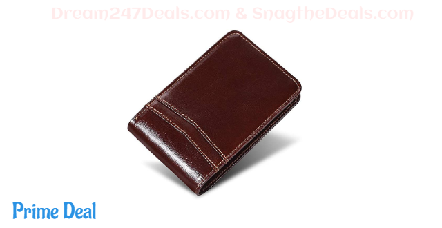 Mens Leather wallet 60% off