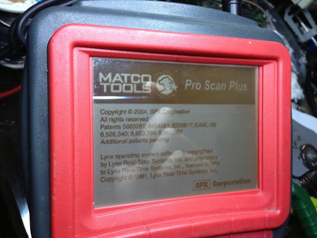 Matco Tools Scanner - Exploring Mars