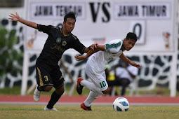 Tim Jawa Timur Kalahkan Jawa Tengah 3-0, Incar Final Sepakbola PON XX Papua