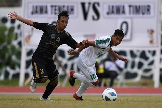 Tim Jawa Timur Kalahkan Jawa Tengah 3-0, Incar Final Sepakbola PON XX Papua.lelemuku.com.jpg