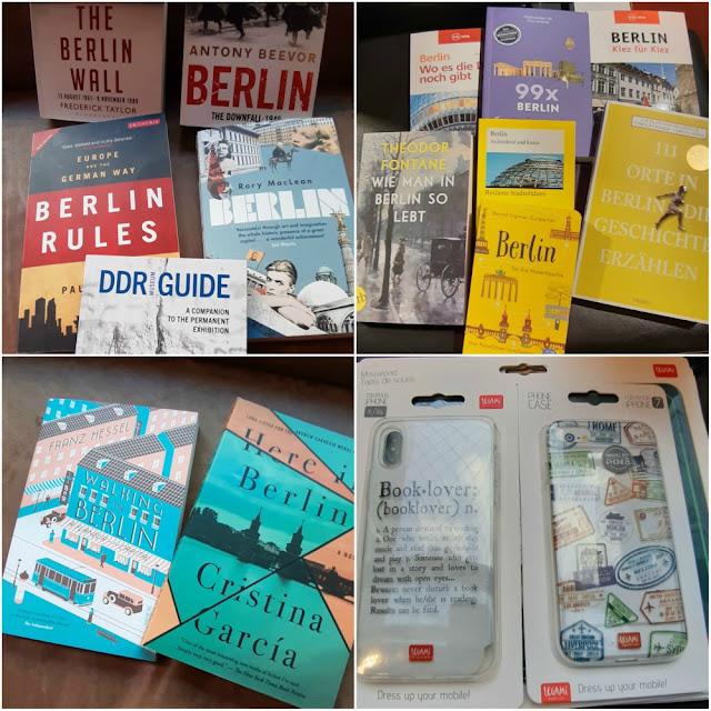 Dicas de leitura sobre Berlim - livraria Dussman
