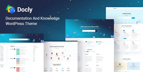 Online Documentation And Knowledge Base WordPress Theme
