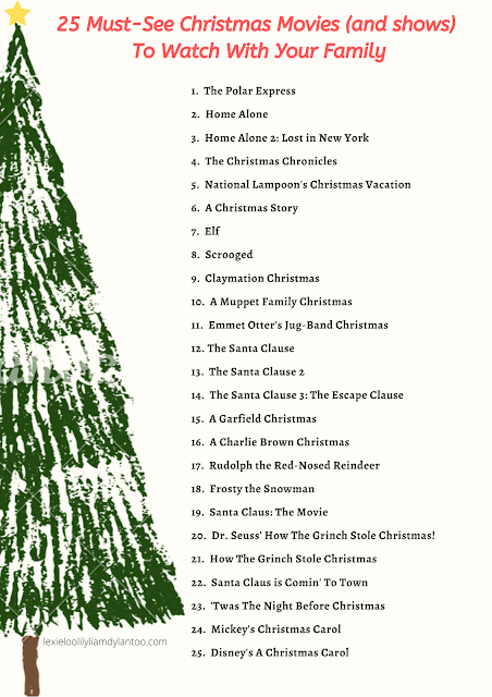 25 Must-See Christmas Movies (and shows) To Watch With Your Family