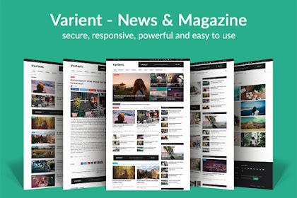 [GRATIS] Download Varient v1.9 - News & Magazine Script