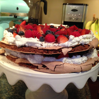 2 Tier Chocolate Pavlova